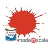Humbrol 174 - Signal Red Satin - Rojo Señal Satinado