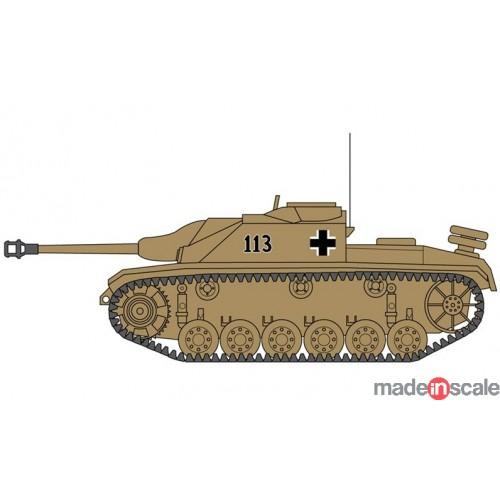 Esquema Sturmgeschutz III de la Wermacht