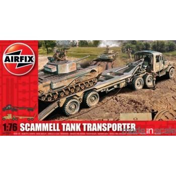 Transporte de tanques Scammel