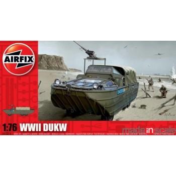 Maqueta vehículo anfibio DUKW