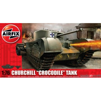 Maqueta Churchill Crocodile Tank