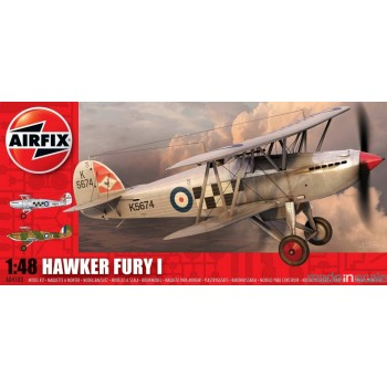 Maqueta Hawker Fury I