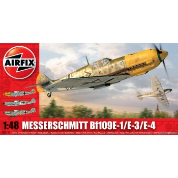 Maqueta Messerschmitt Bf-109E