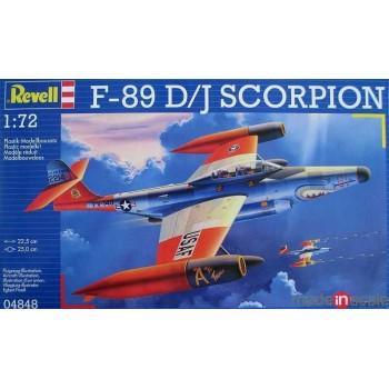 Maqueta F-89 D/J Scorpion