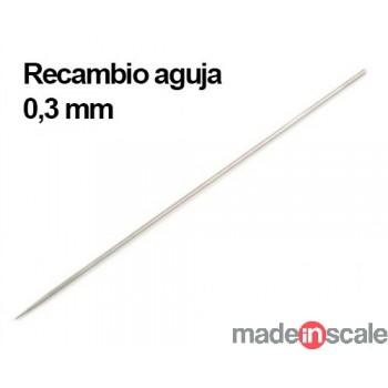 Aguja para aerógrafo 0,3mm