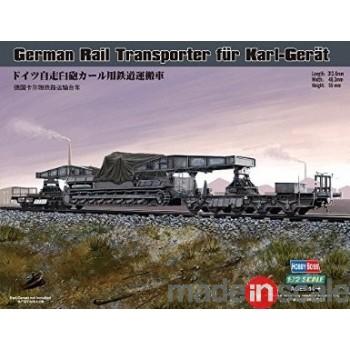 Transporte ferroviario para Karl-Geraet