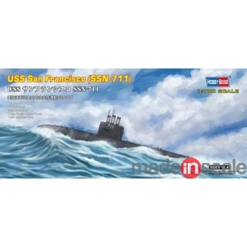 Maqueta Submarino USS San Francisco